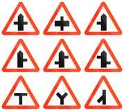 Warning Road Signs In Bangladesh Royalty Free Stock Images