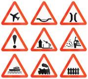Warning Road Signs In Bangladesh Stock Image