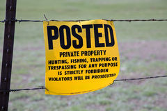 Warning sign Royalty Free Stock Photos