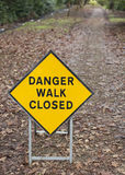 Warning sign Royalty Free Stock Photo
