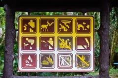 Warning Sign Board Royalty Free Stock Photos