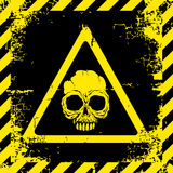 Warning sign of danger Stock Images