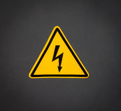 Warning Sign. Stock Photos