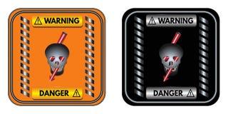 Warning sign: Danger Stock Photos