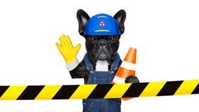 Warning sign dog Royalty Free Stock Photo