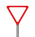 Warning sign. Stock Image
