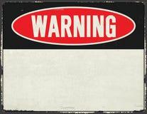 Free Warning Sign Metal Grunge Rustic Stock Photo - 175638720