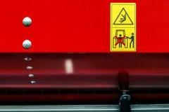 Warning Sign 5 Royalty Free Stock Photography
