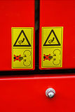 Warning Sign 1 Stock Photography