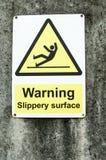 Warning sign Stock Photos