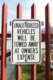 Warning sign. Stock Photography