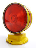 Warning Signal, Side View Royalty Free Stock Photos