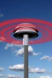 Warning signal from siren Stock Photos