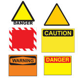 Warning signals Stock Photography