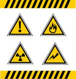 Warning signals Royalty Free Stock Photos