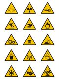 Warning Signs Royalty Free Stock Image
