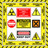 Warning Signs vector illustration