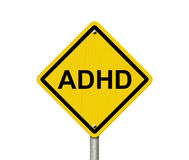 Warning Signs of ADHD Royalty Free Stock Images