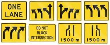 Warning Signs in Ontario - Canada Stock Photos
