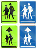Warning Signs in Ontario - Canada Stock Image