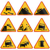 Warning Signs In Poland Royalty Free Stock Image