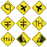 Warning Signs In Victoria - Australia Stock Photo