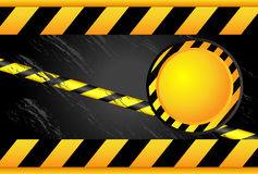 Warning signs and warning lines Royalty Free Stock Photography