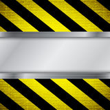 Warning stripe background Royalty Free Stock Image