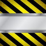 Warning stripe background Royalty Free Stock Image