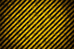 Warning stripe template Stock Photo