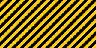 Warning striped rectangular background Royalty Free Stock Image