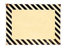 Warning stripes Royalty Free Stock Images
