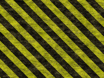 Warning stripes Royalty Free Stock Photography