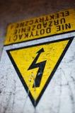 Warning symbol Stock Images