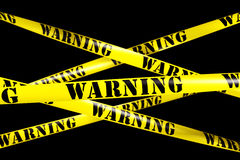 Warning tape Stock Photos
