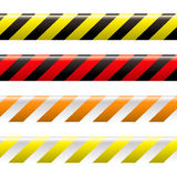 Warning tape stock illustration