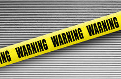 Warning tape Royalty Free Stock Photos