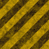 Warning Texture With Black and Yellow Stripes royalty free stock photography