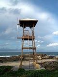 Warning tower Stock Image
