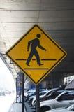 Warning traffic Royalty Free Stock Photography