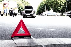 Warning_triangle Stock Fotografie
