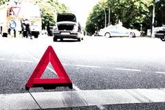 Warning_triangle fotografia de stock