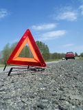 Warning Triangle Stock Image