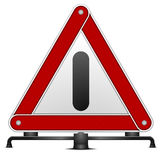 Warning triangle Royalty Free Stock Image