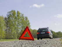 Warning triangle Royalty Free Stock Photo