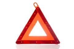Warning triangle Stock Photo
