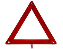 Warning triangle sign Stock Photo
