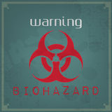 Warning Vintage Background Royalty Free Stock Images
