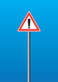 WARNING-Zeichen stock abbildung