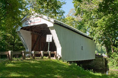 Warnke Covered Bridge Royalty Free Stock Image